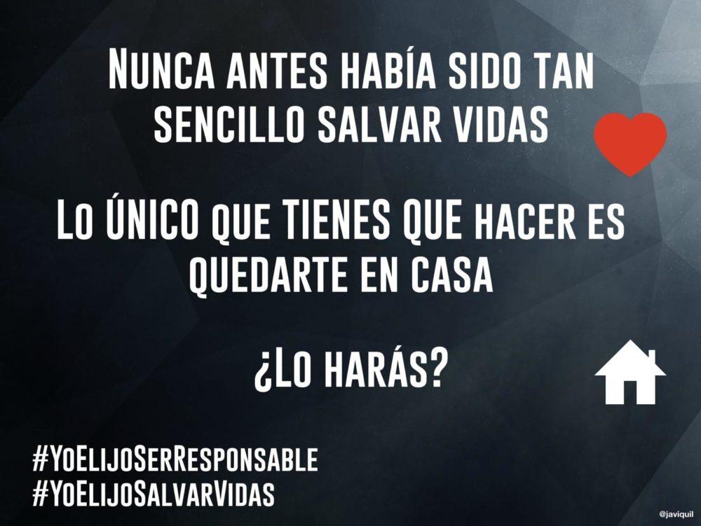 #QUEDATEENCASA 1º