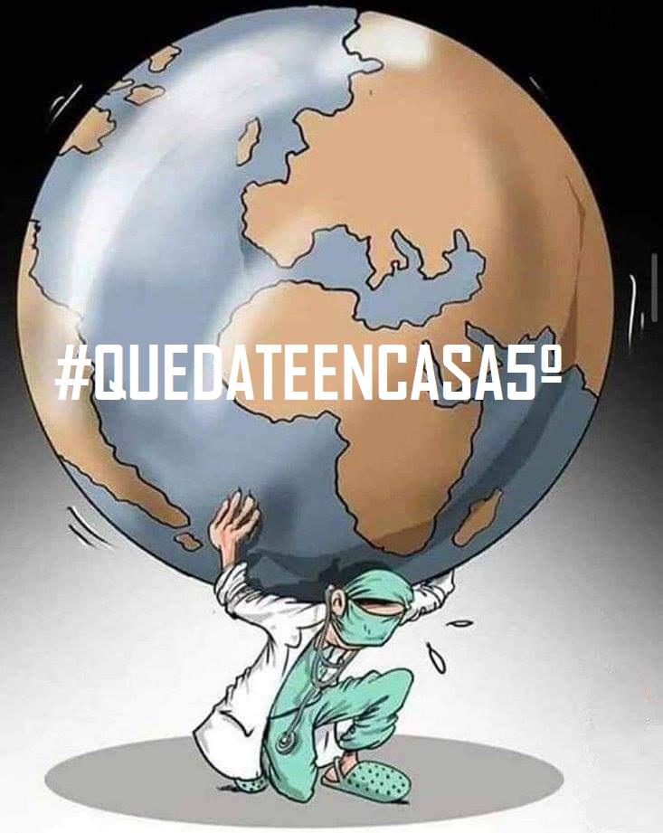 #QUEDATEENCASA 5º